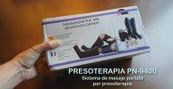 análisis de presoterapia portátil 9400